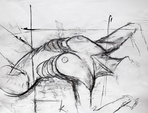 Guillaume KALT - Dibujo Acuarela - Vision    (Cat N° 6150)