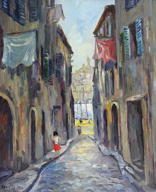 Fred PAILHES - Pintura - Marseille