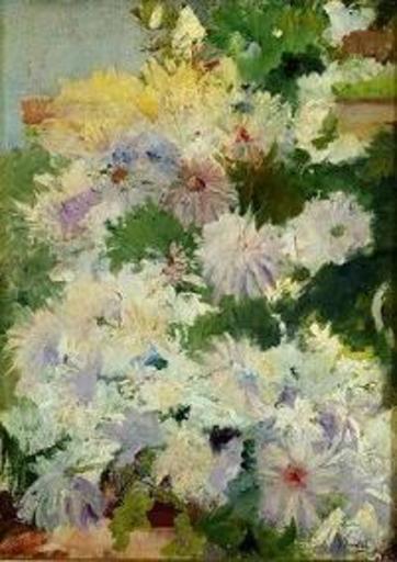 Joaquín SOROLLA Y BASTIDA - Pintura - Flores