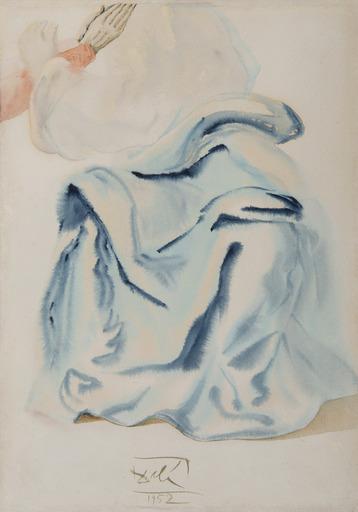 Salvador DALI - Drawing-Watercolor - De l'Empyrée (illustration pour le Paradis)