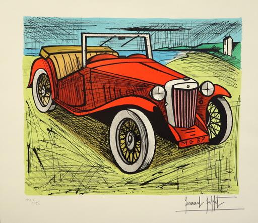 Bernard BUFFET - Stampa-Multiplo - MG 1937 ROUGE