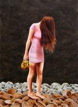 Erlend STEINER LOVISA - Painting - Madelon 2 (Birth of Venus)    (Cat N° 5647)