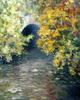 Levan URUSHADZE - Peinture - Fall in the Central Park. New York