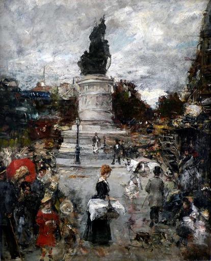 Eduardo Léon GARRIDO - Painting - Place Clichy