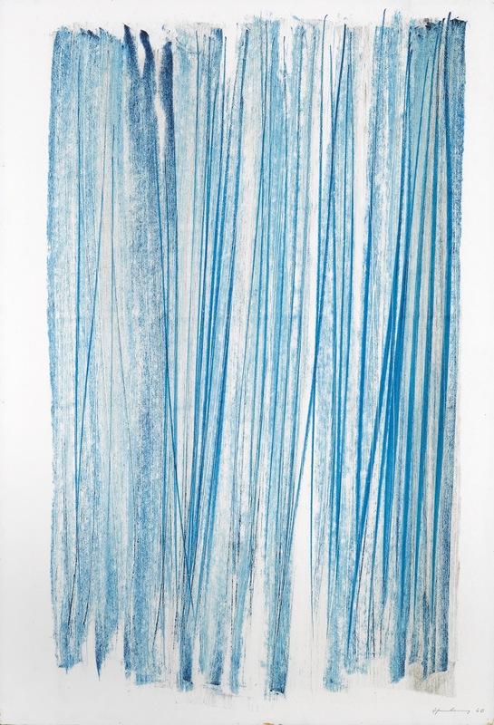 Hans HARTUNG - Zeichnung Aquarell - P1960-349