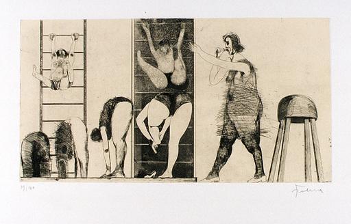 Adolf FROHNER - Print-Multiple - Die Gymnastikstunde