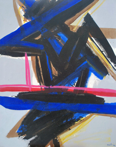 Edo MURTIC - Painting - Agresija