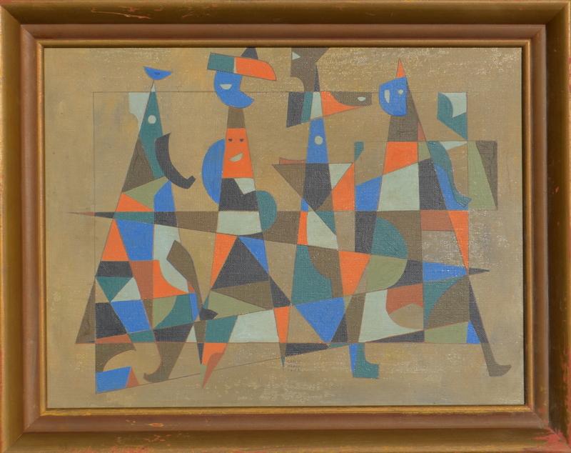 Carlos MÉRIDA - Painting - untitled