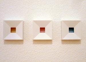 Gerhard DOEHLER - Sculpture-Volume - Chromophores (3 elements)