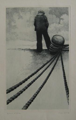 Michel DE GOEYE - Grabado - GRAVURE SIGNÉE CRAYON ÉPREUVE D'ARTISTE HANDSIGNED ETCHING