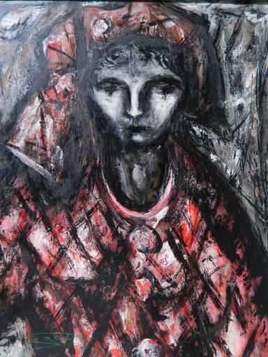 Jean Marie GOUTTIN - Pintura - PERSONNAGE