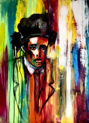 Katie GUITTARD - Peinture - BASQUIAT II