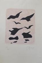 Georges BRAQUE - Estampe-Multiple - *Oiseaux # 178