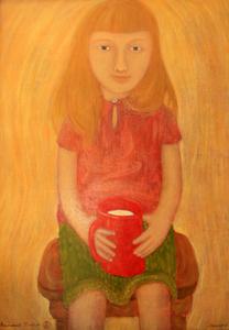Roman ANTONOV - Painting - Milk