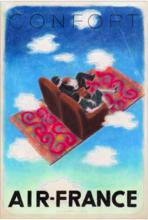 维克多•瓦沙雷利 - 绘画 - Air France - Confort