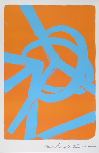 DI SUVERO Mark - Estampe-Multiple - Planetaire (lithograph)