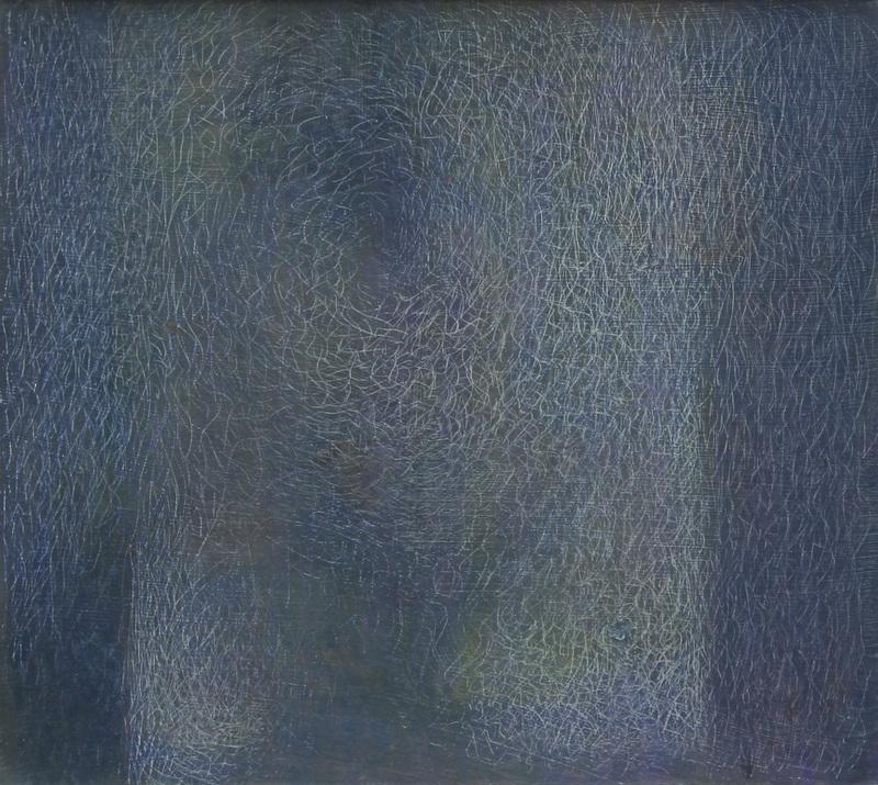 Mario DELUIGI - Gemälde - SENZA TITOLO