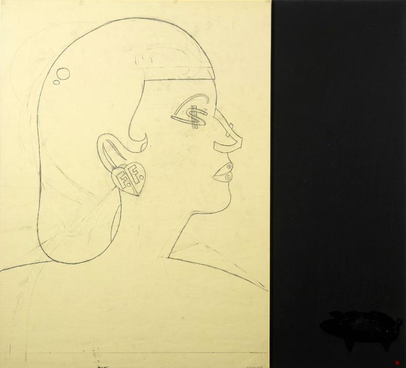 Eduardo ARROYO - Drawing-Watercolor - Money