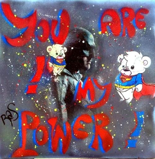 Rose-Agathe STEINER - Peinture - Batman's secret