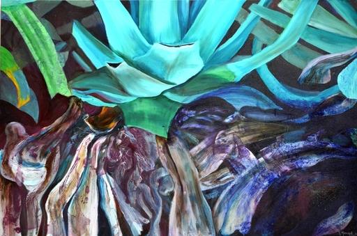 Peny MANAVI - Gemälde - Cactus 11