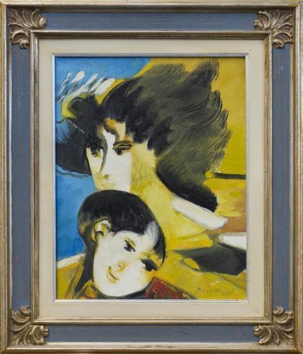 Remo BRINDISI - Gemälde - maternità