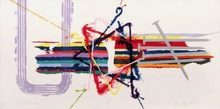 James ROSENQUIST (1933) - Violent Turn