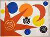 Alexander CALDER - Stampa Multiplo - Composition IV, from The Elementary Memory