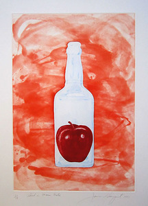 "James ROSENQUIST, ""Blood in Warm Water"" from The Glass Wishes (G. 190)"