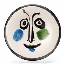巴勃罗•毕加索 - 陶瓷  - Visage n°197
