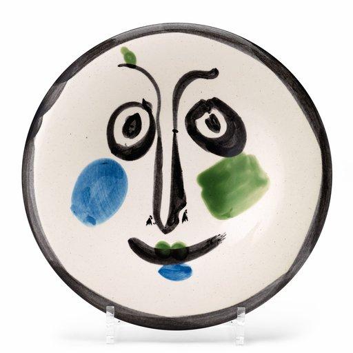 Pablo PICASSO - Ceramic - Visage n°197