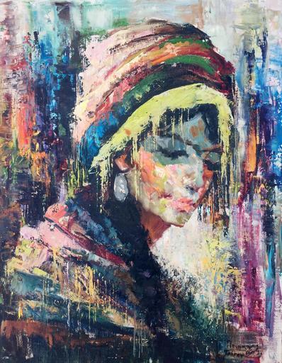 Cyrus AFSARY - Gemälde - portrait