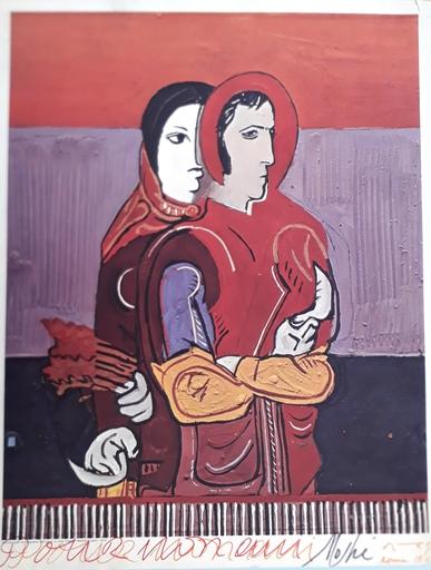 José ORTEGA - Print-Multiple - Couple