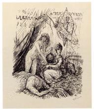 Alfred KUBIN - Grabado - Judith,1923