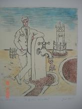 乔治•德•基里科 - 版画 - La fontana del mistero