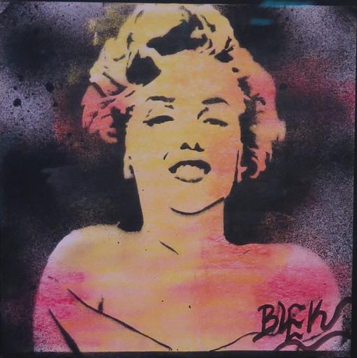 BLEK LE RAT - Dibujo Acuarela - Marilyn