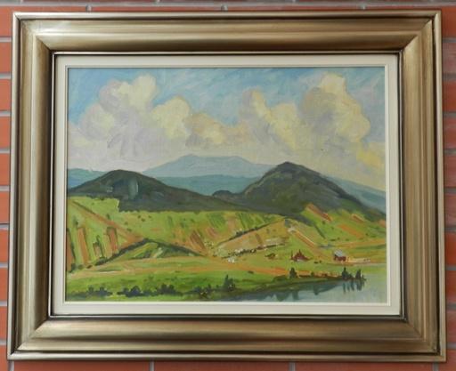 Andriy KOTSKA - Painting - Pri Zemlínskej Šírave