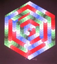 Victor VASARELY - Print-Multiple - *Tsiga