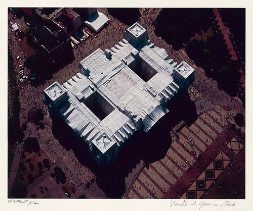 CHRISTO - Druckgrafik-Multiple - Reichstag Mappe II, Dach