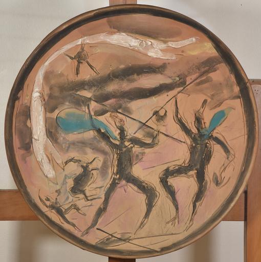 Lucio FONTANA - Ceramiche - Battaglia