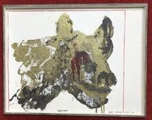 Franco ANGELI - Pintura - Natale di Roma 1964