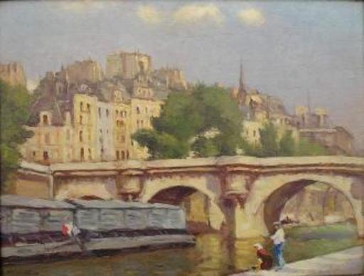 L. NOIREAUT - Pintura - Le Pont Neuf