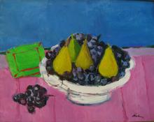 Enrico PAULUCCI - Pintura - Uva e tre pere