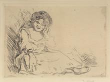 """Edvard MUNCH (1863-1944) - """"Amanda"""""""