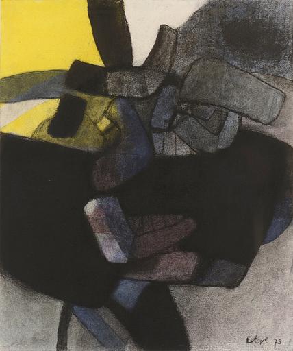 Maurice ESTEVE - Zeichnung Aquarell - 1950D