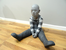 Sung-Myung CHUN - Escultura - Swallowing the shadow