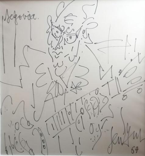 GEN PAUL - Drawing-Watercolor - segovia