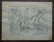 Selim TURAN - Dibujo Acuarela