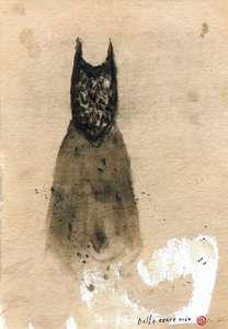 Piero PIZZI CANNELLA - Drawing-Watercolor - Bella cuore