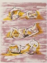 Henry MOORE (1898-1986) - Three reclining figures