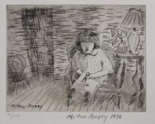 Milton Clark AVERY - Print-Multiple - A CHILD CUTTING